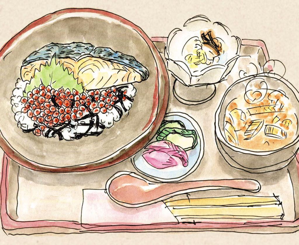 鮭ばっかり丼
