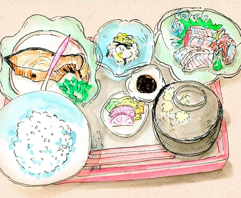 石田屋定食
